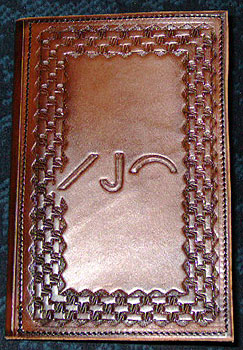 Personalized Leather Portfolios Western Leather