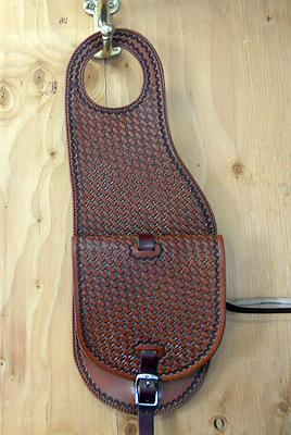 Pommel Bag Holster, Pommel Packer, Pistol Holster, Leather ... Saddler